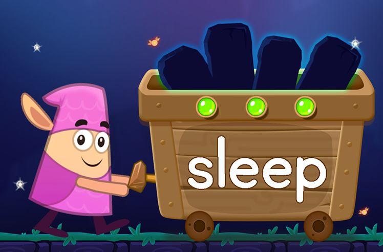 Learn the Sight Word: sleep