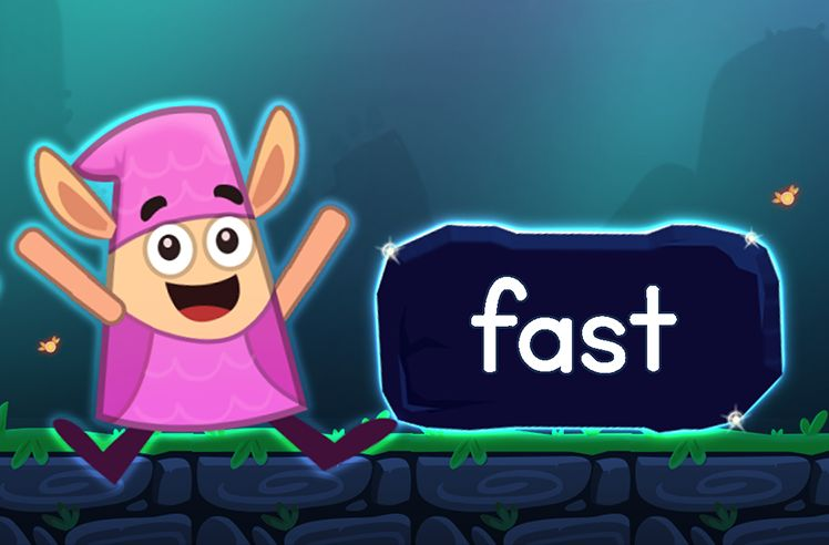 Learn the Sight Word: fast
