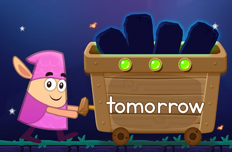 Learn the Sight Word: tomorrow