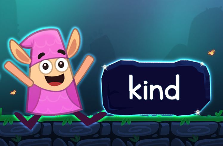 Learn the Sight Word: kind