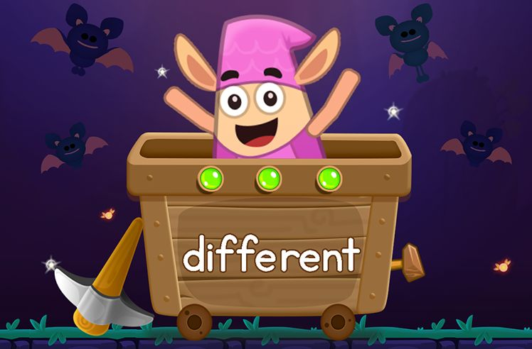 Learn the Sight Word: different