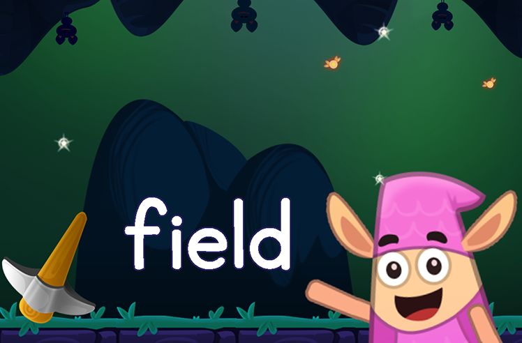 Learn the Sight Word: field