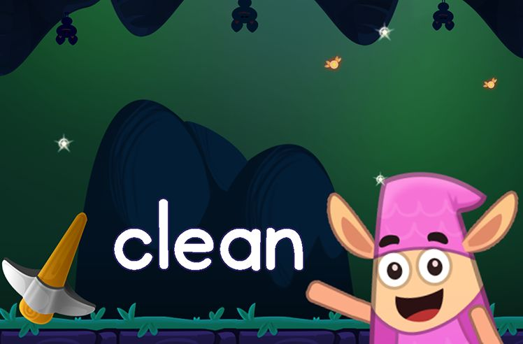Learn the Sight Word: clean