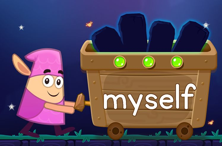 Learn the Sight Word: myself