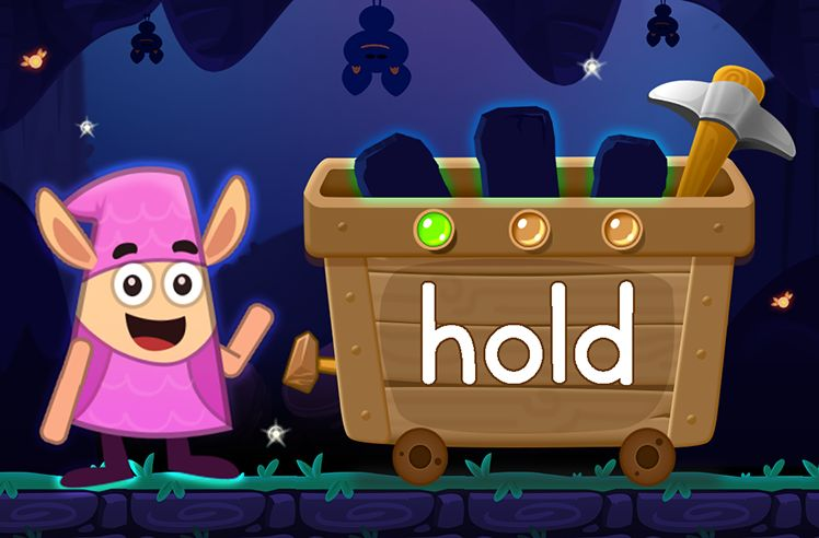 Learn the Sight Word: hold