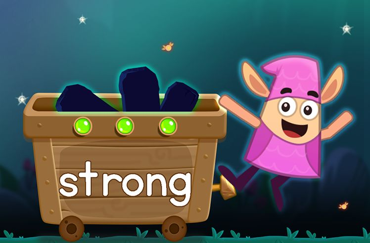 Learn the Sight Word: strong