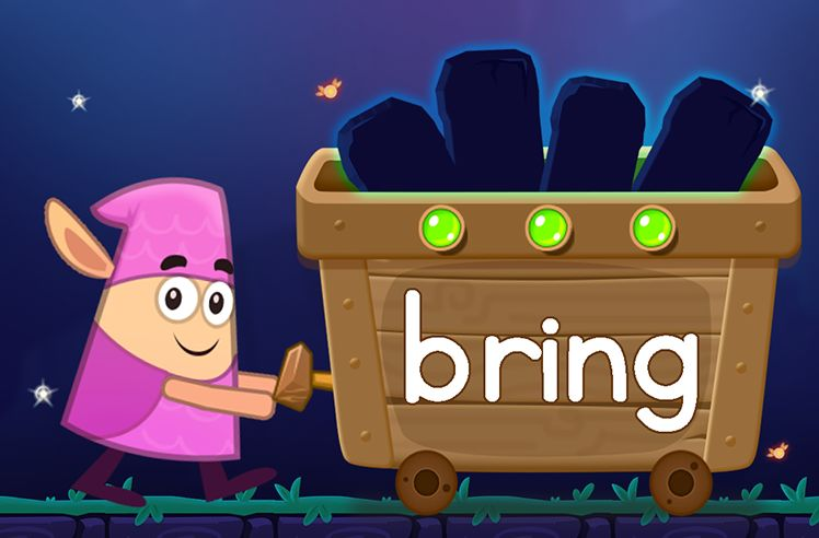 Learn the Sight Word: bring