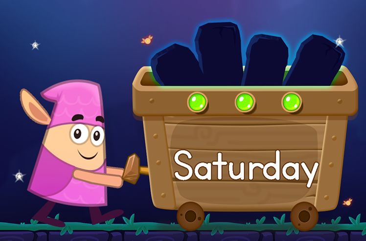 Learn the Sight Word: Saturday