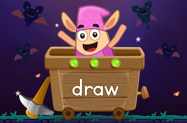 Learn the Sight Word: draw