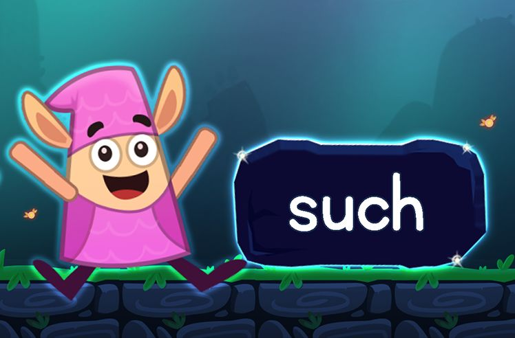 Learn the Sight Word: such