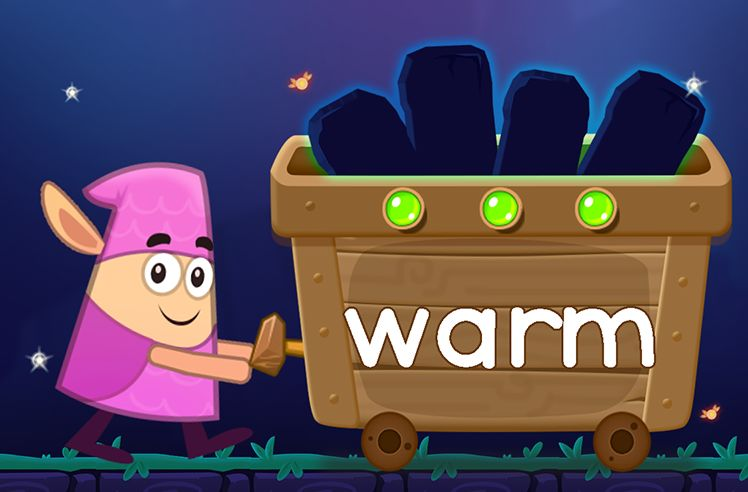 Learn the Sight Word: warm