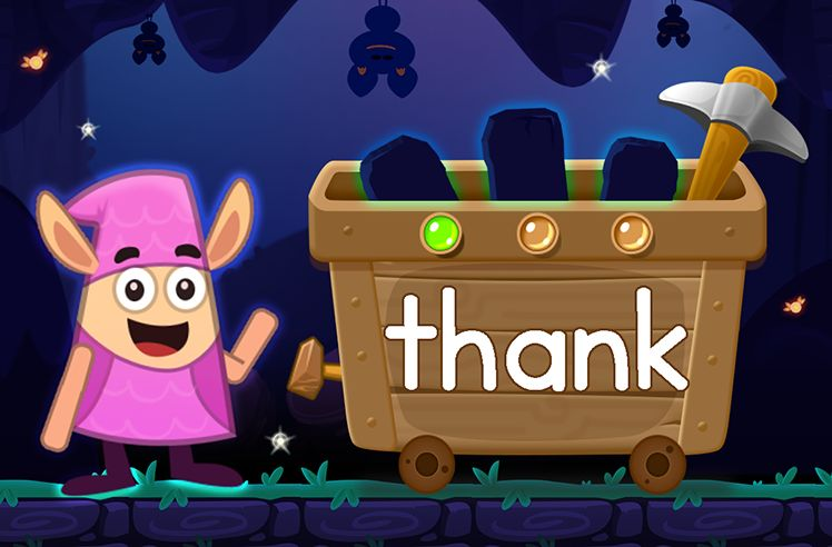 Learn the Sight Word: thank