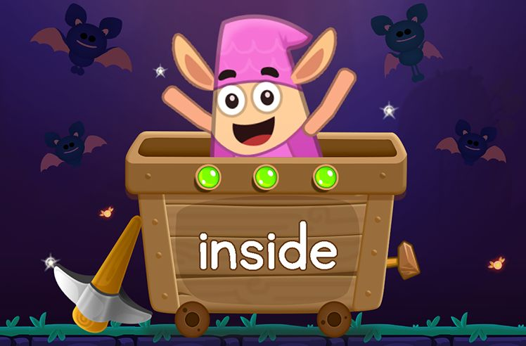 Learn the Sight Word: inside