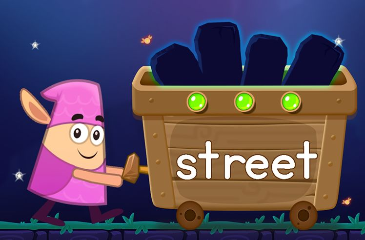 Learn the Sight Word: street