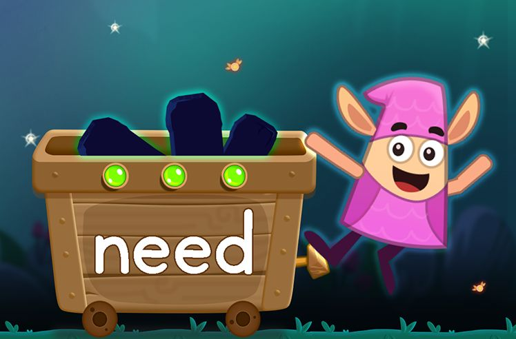 Learn the Sight Word: need