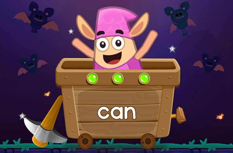 Learn the Sight Word: can