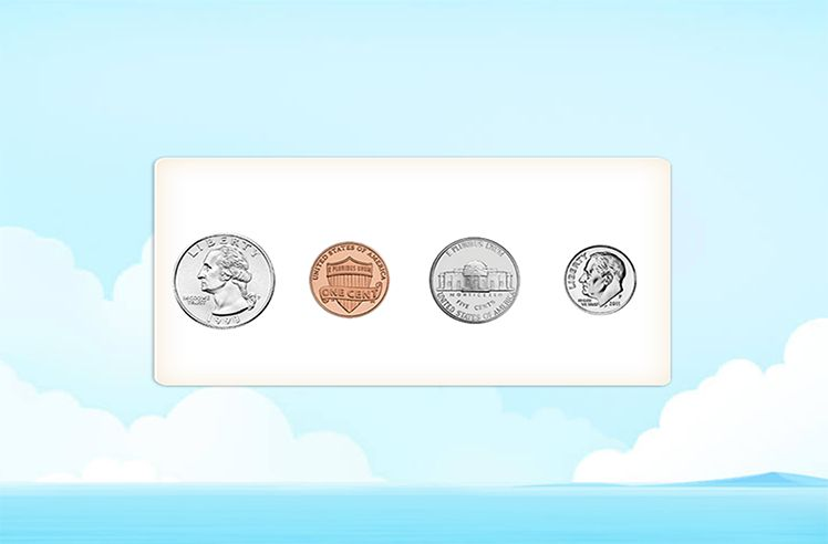 Order the Coins by their Values