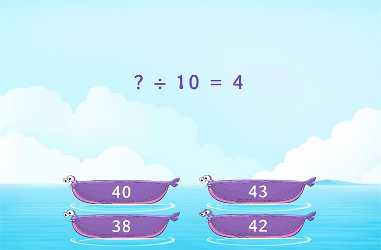 Use Facts of 4 to Find the Missing Number