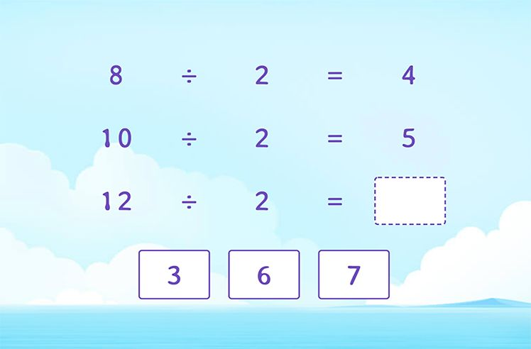 Complete the Division Patterns