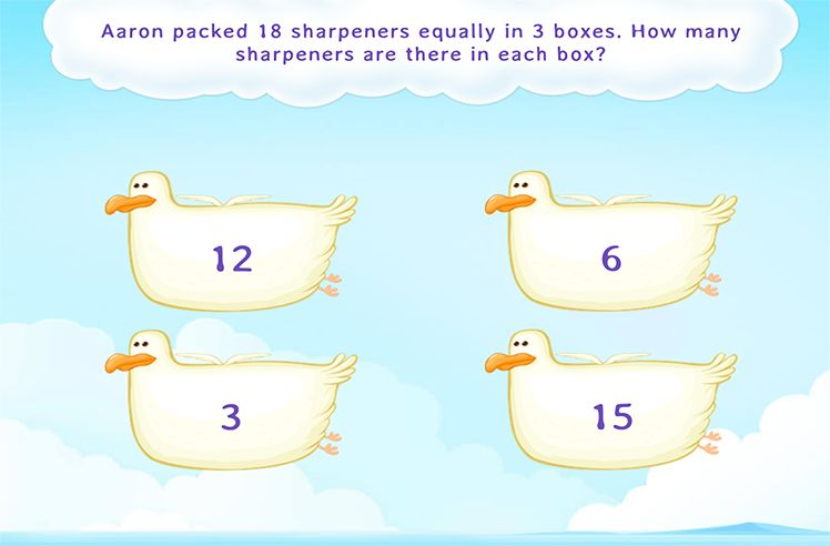 Solve Word Problems on Division