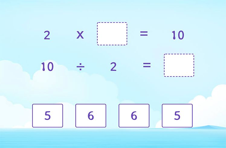 Use Multiplication to Divide by 2