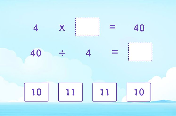 Use Multiplication to Divide by 4