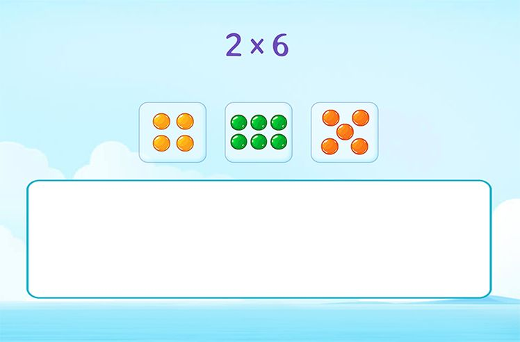 Model Multiplication using Equal Groups