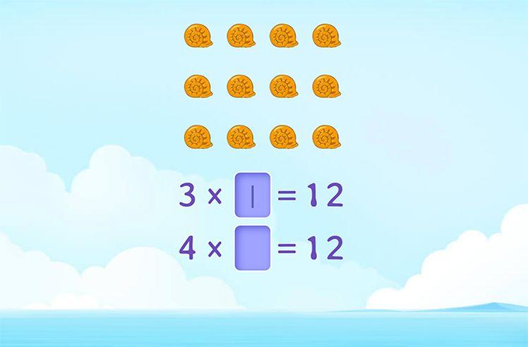Write Multiplication Sentences for Arrays