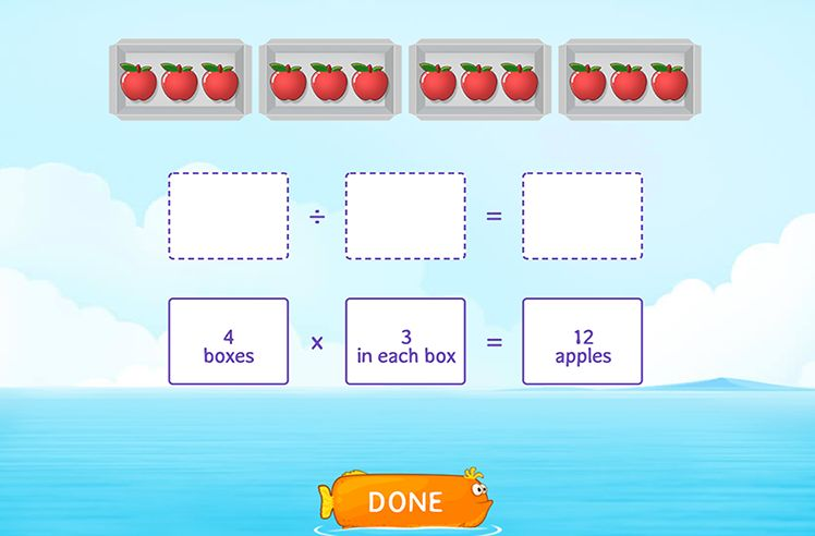 Use Models to Relate Multiplication and Division