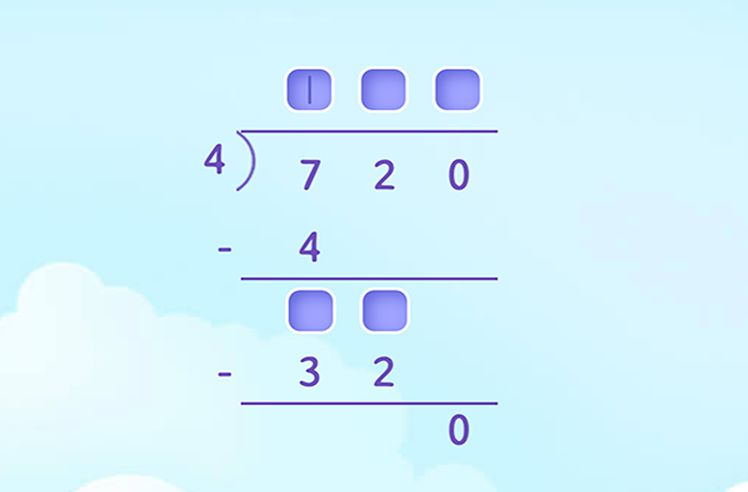 Divide 3-digit Multiples of 10 and 100