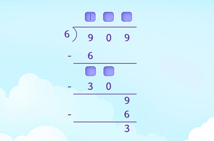Complete the Long Division Solution