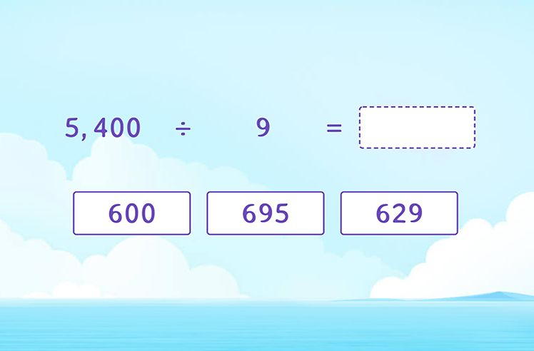Divide Multiples of 100 and Find the Quotient