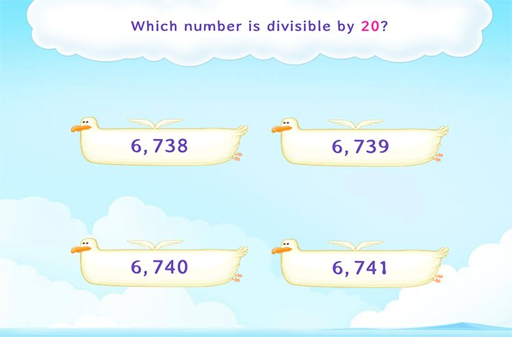 Identify the Number that is Divisible