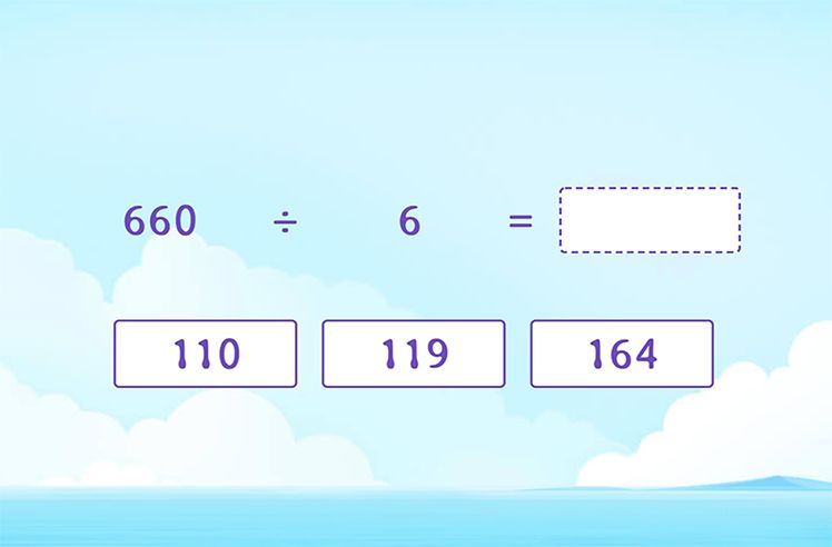 Fill in the Quotient