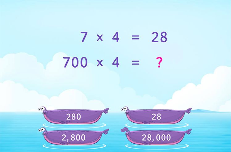 Multiply using a Related Fact