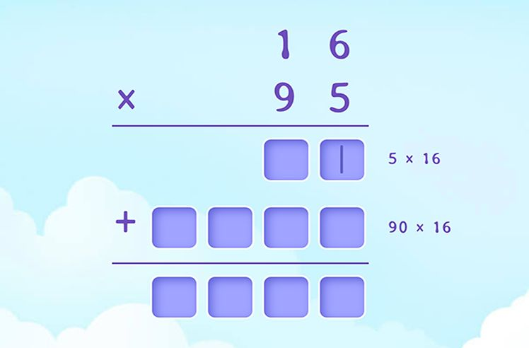Multiply Two 2-Digit Numbers using Place Value