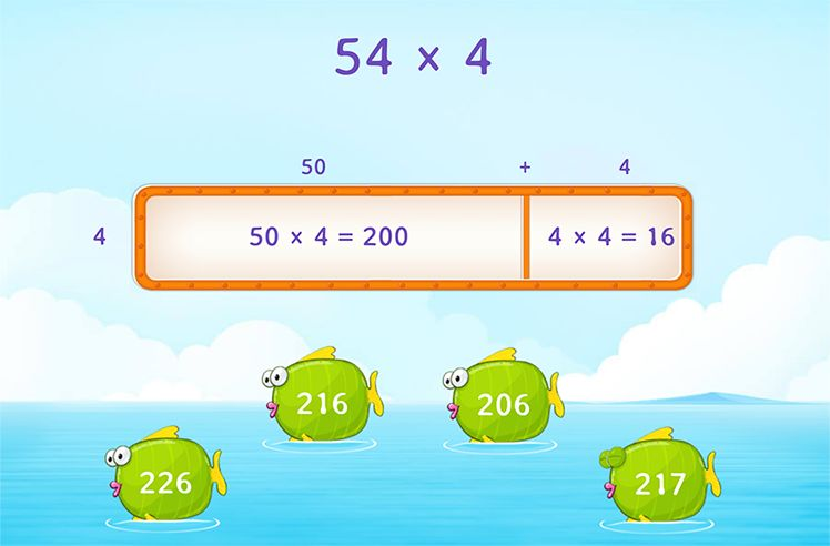Multiply Using Area Models
