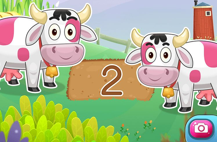 Count and Tell Numbers from 1 to 3