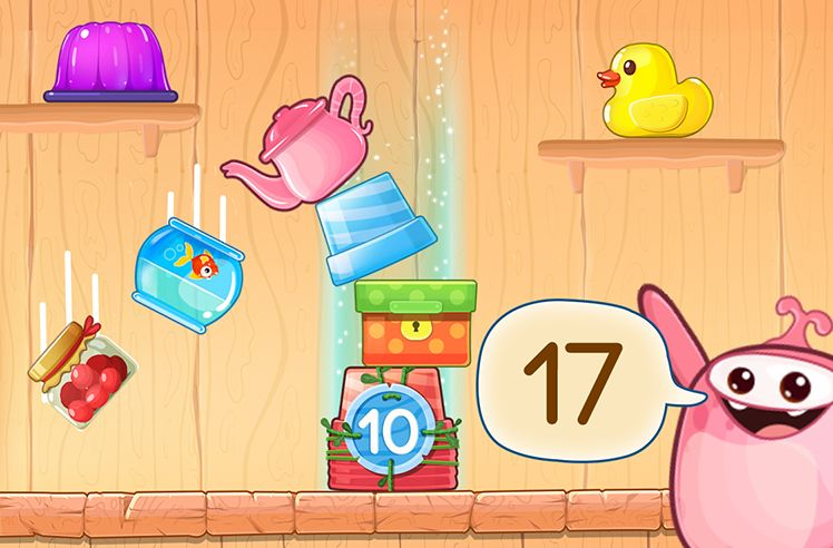 Number Sequence from 1 to 20