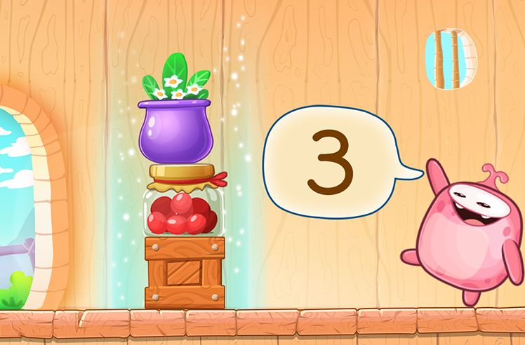 Number Sequence from 1 to 3