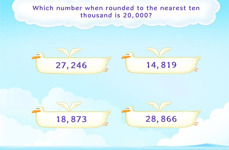 Identify the Number Which Can Rounded off to the Given Number