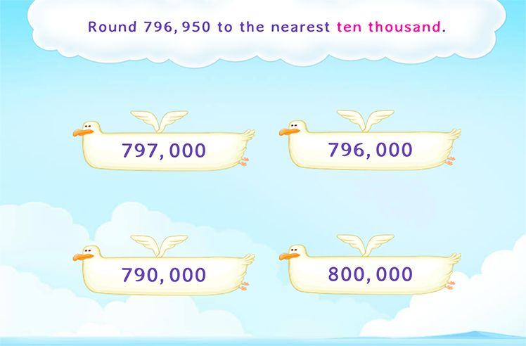 Round off to the Nearest Number According to the Place Value