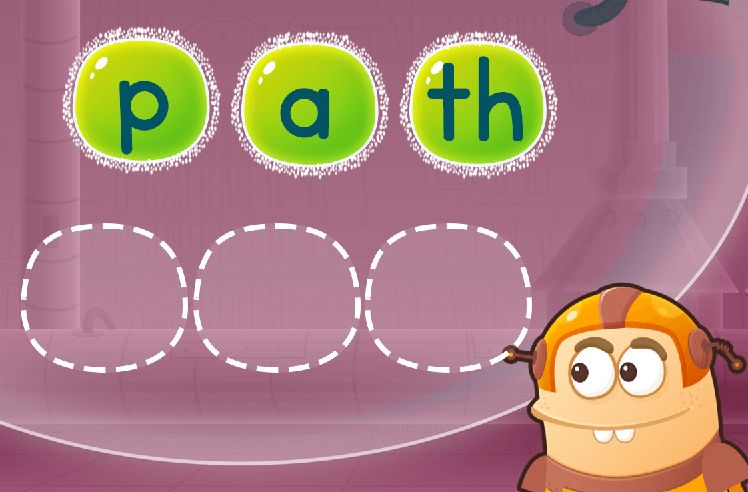 Sequence the Letters to Make Words: shut and chaff