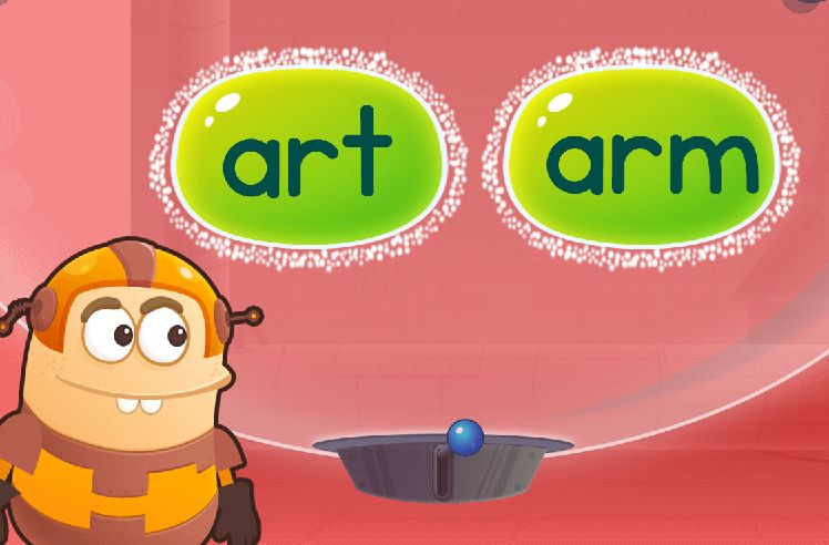 Find Words Using Blending: arm and farm