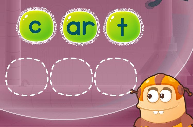 Sequence the Letters to Make Words: yard and farm