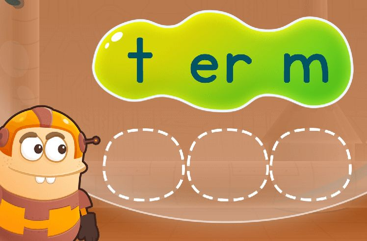 Rearrange Sounds to Make Words: fern and berth