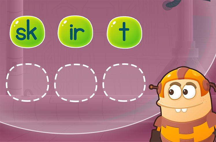 Rearrange Sounds to Make Words: third and shirt