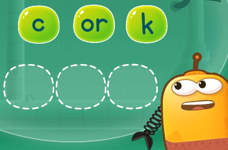 Rearrange Sounds to Make Words: sort and form