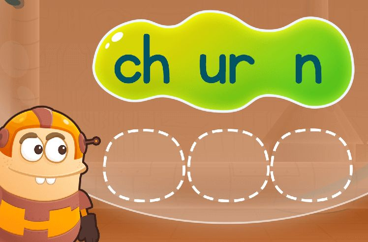 Rearrange Sounds to Make Words: furl and surf