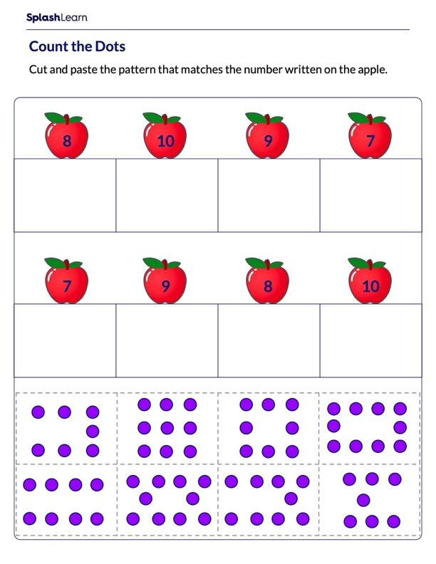 Identify the Correct Dot Pattern